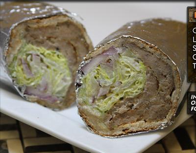 Famous Gyro Sandwich